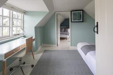 Looking through bedroom 3 to bedroom 4.
