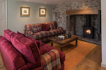 The cosy living-room is such a great place to snuggle up and relax following an action-packed day.
