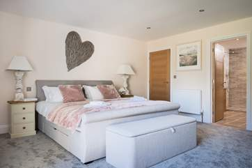 One of the beautiful bedrooms.