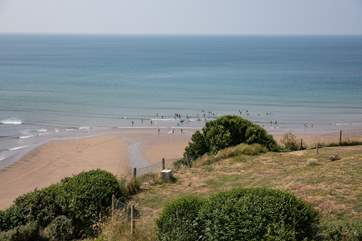 The local canoe training school is nearby and operates from Bigbury beach for those who fancy a little water activity.