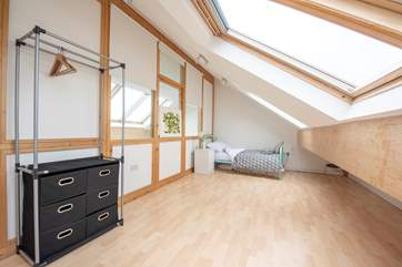 The second floor single bedroom/snug.