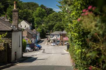The picture-perfect village of St Agnes, is full of boutique shops and amazing bistro cafes.