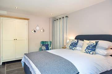 Daybreak Cottage has two beautifully furnished bedrooms.