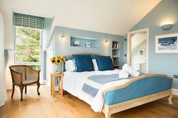 Bedroom 5  has a super comfy super-king size bed....