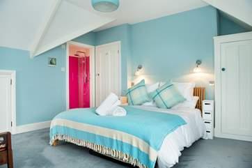 Bedroom 2 also has an en suite shower.