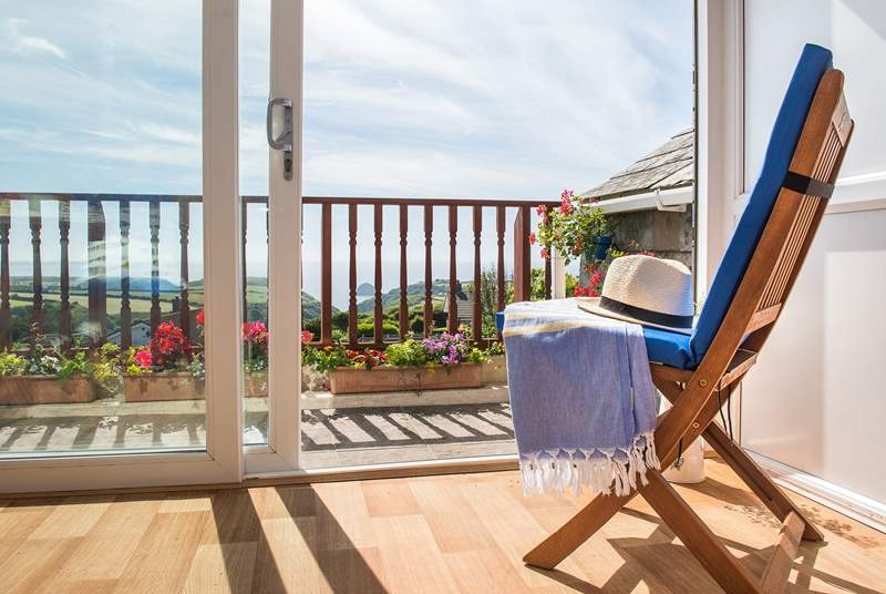 Pull up a chair and enjoy the view from inside the conservatory or out on the balcony.