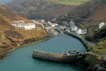 The pretty village of Boscastle- explore the harbour, visit the pottery or take a hike along the coastal footpath.