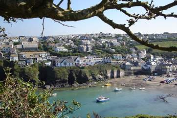 The pretty harbourside village of Port Isaac.