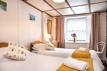 Haywain has two comfortable bedrooms.