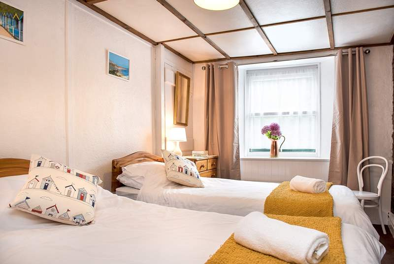 Haywain has two comfortable bedrooms.