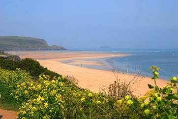 This stretch of the coastline has an abundance of great beaches to discover.