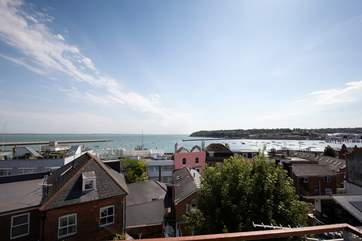 The views from the roof top terrace are spectacular!