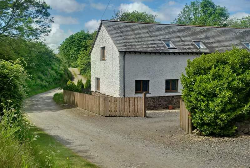 Fern Gully is such a pretty cottage.