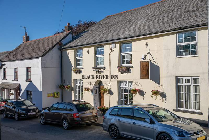 The local pub is also definitely worth a visit. A warm Devon welcome awaits.