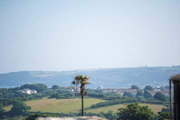 Lovely views towards Penzance and Mousehole.