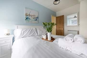 The double bedroom.