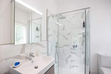 The sumptious en suite Shower-room