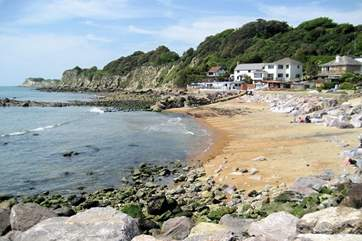 Ventnor sea front is just a short walk from 1 St Josephs