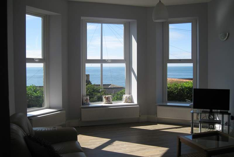The wonderful views from the sitting-room and kitchen/diner will take your breath away