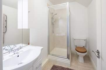 The second shower-room is on the first floor.