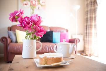 Enjoy a cup of tea after your day out exploring