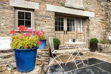 Enjoy a cream tea or sundowners on the terrace.