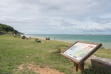 With seashore and woodland walks and one of the best vantage points for watching the boats and shipping