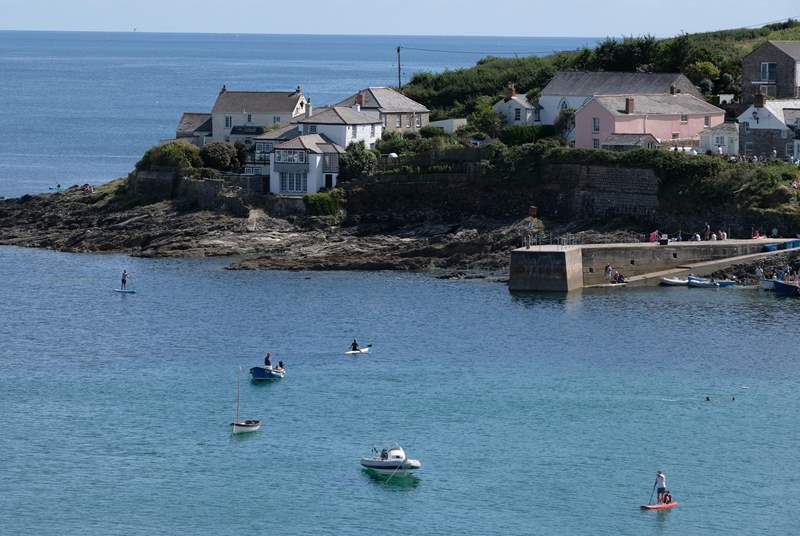 Portscatho, with a selection of shops and friendly pubs and cafe, is close by.