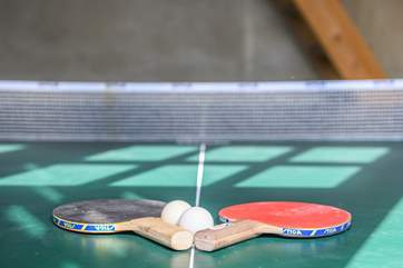 Fancy a game of table-tennis?