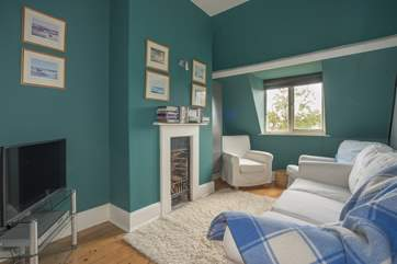 The second floor sitting-room, an ideal playroom for the kids.
