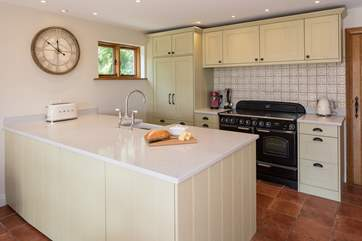 The fully equipped kitchen is completely state of the art, with no expense spared on equipment, gadgets and general facilities. Whipping up a feast will prove a pleasure in this gorgeous kitchen.