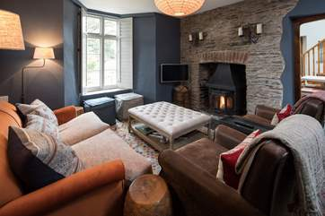 Complemented by a glorious wood-burner, this cosy room is perfect for snuggling up after a full day of fun and adventure.