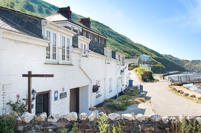 The Boathouse,Sleeps 2 + cot, Boscastle