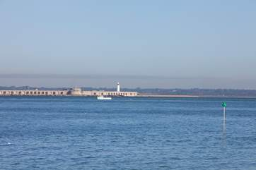 Why not book a table at The Water Front, a beautifully located restaurant which overlooks Hurst Castle. The views here are just breathtaking.