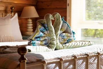 The housekeepers go above and beyond to make sure you will have the most amazing holiday.