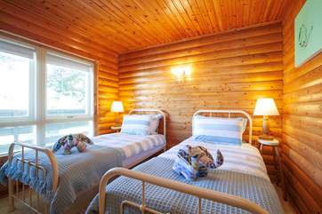 With the wonderful smell of wood, you will drift into the most peaceful night's sleep.