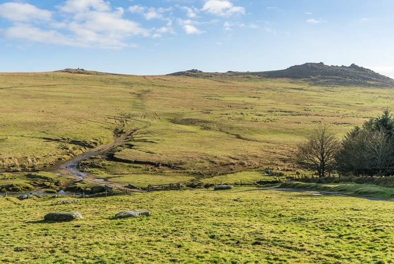 The dramatic landscape of Bodmin Moor is a rambler's paradise.