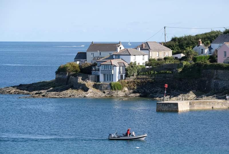 Portscatho is a pretty seaside village.