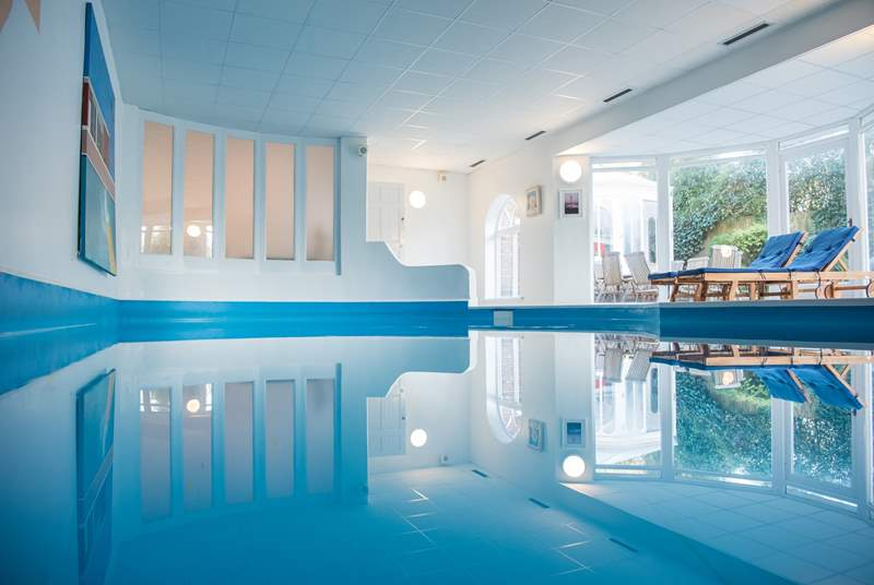 The Indoor heated swimming pool will be enjoyed by all