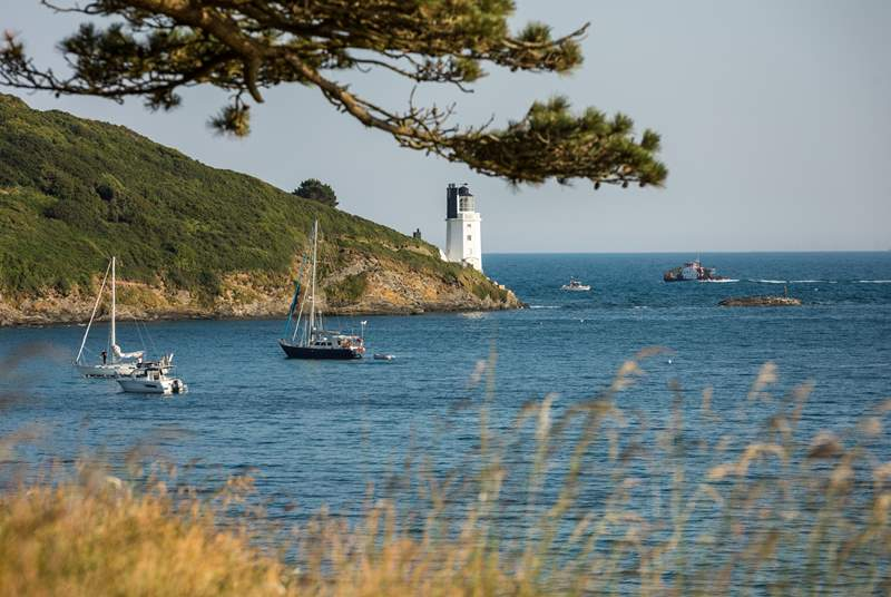 St Anthony lighthouse, the entrance to the harbour.