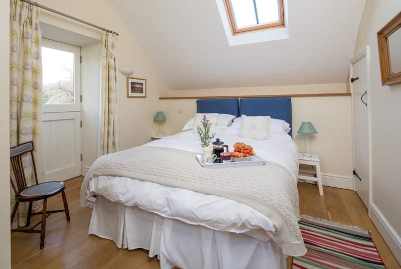 Bedroom 2 is simply divine.