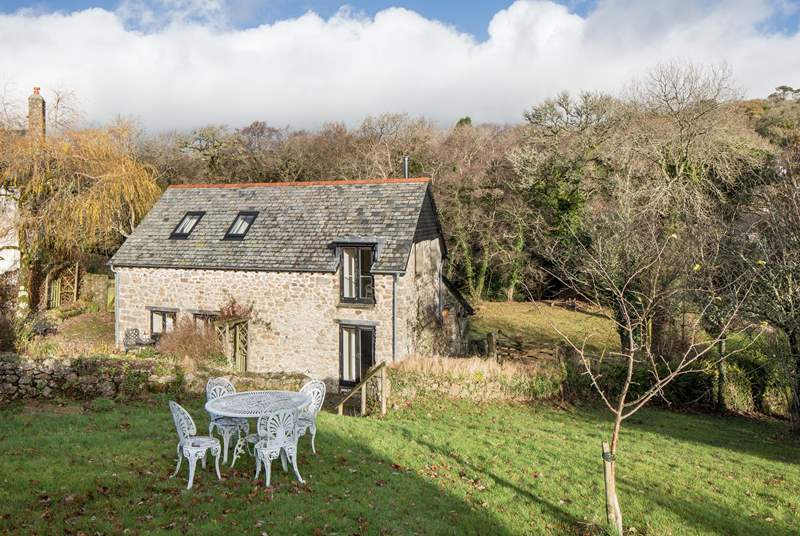 The Bothy is a picture-perfect cottage nestled in such a stunning location.