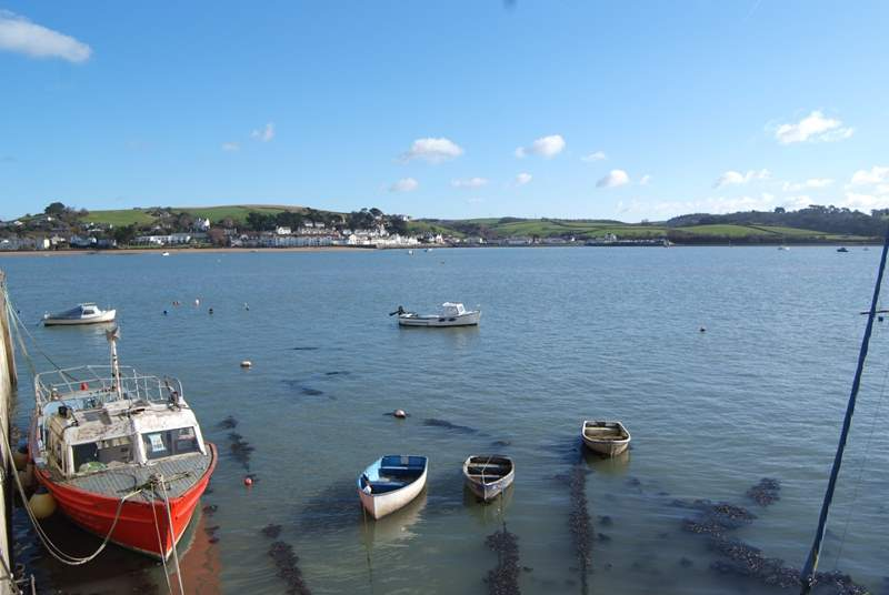 North Devon offers a wonderful coastline of rugged cliffs, harbours and seaside villages. This image is looking across at Instow from Appledore. Instow's beach is dog-friendly all year round.