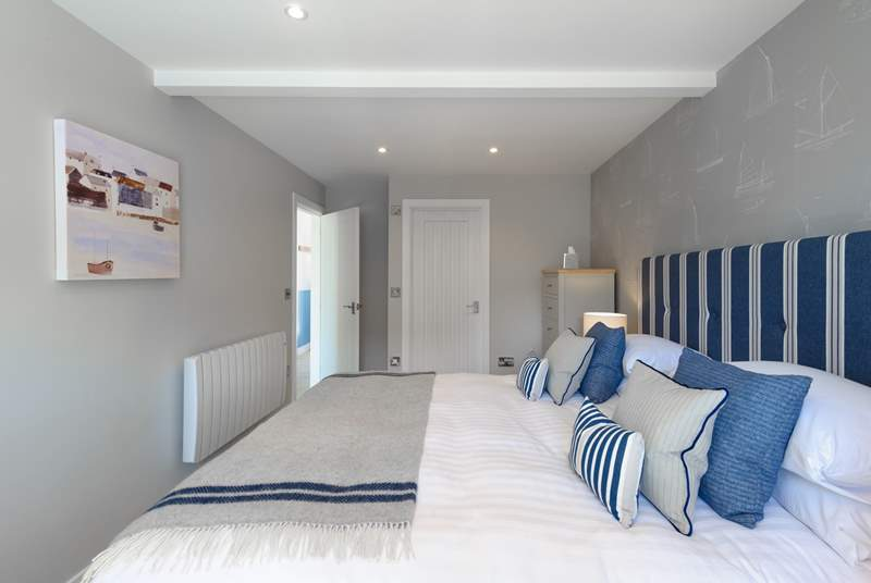 An example of one of the luxurious bedrooms.