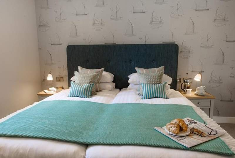 An example of the relaxing and comfortable bedrooms.