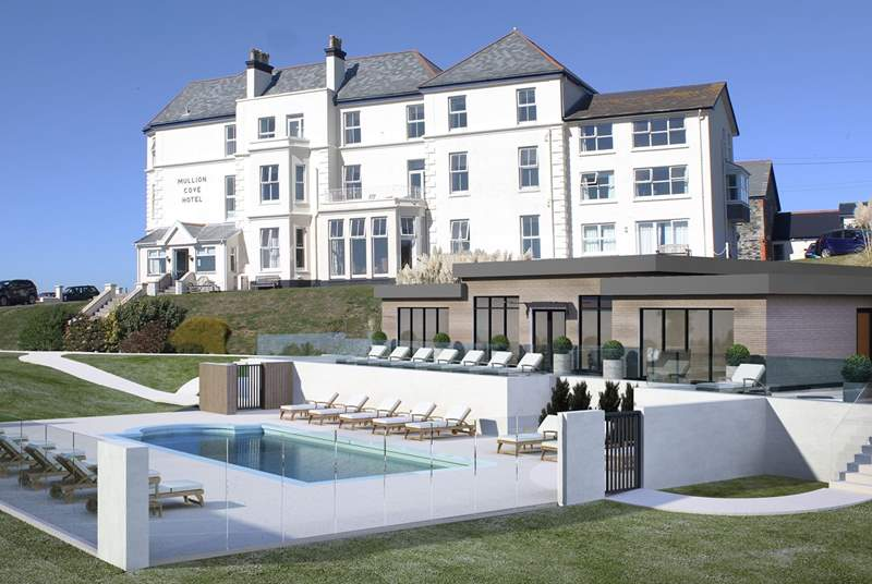 Guests staying in the apartments also have use of the facilities at the hotel including the solar heated outdoor swimming pool  from July 2019.
