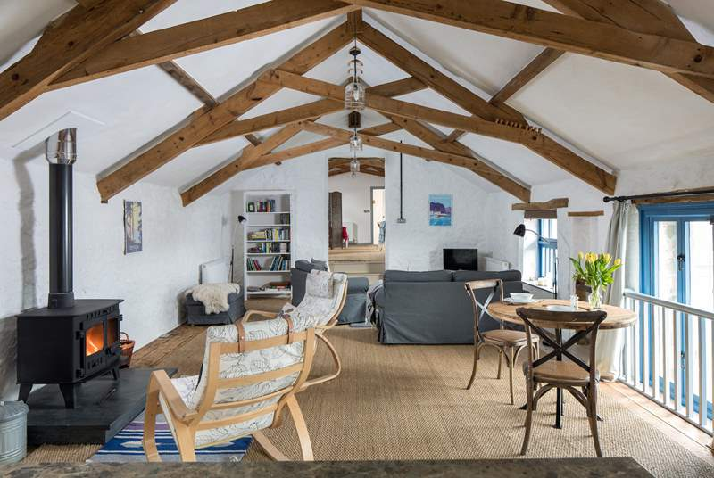 This amazing retreat is light, airy and super spacious.
