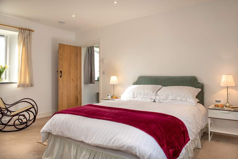 Hyde Barn has two delightful bedrooms.