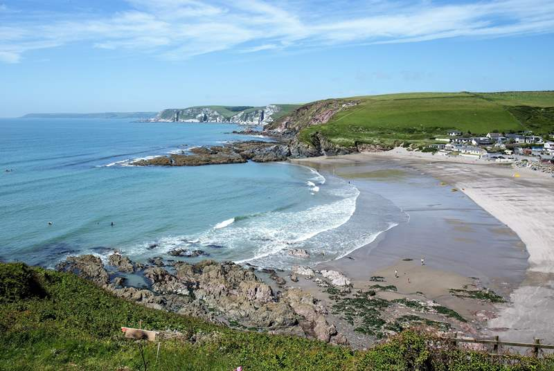 Anyone for a day out on the beach. With this beautiful beach a matter of minutes away - what are you waiting for!