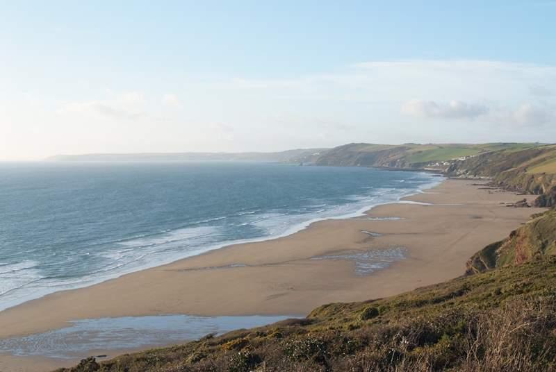 The beautiful south Cornish coast.